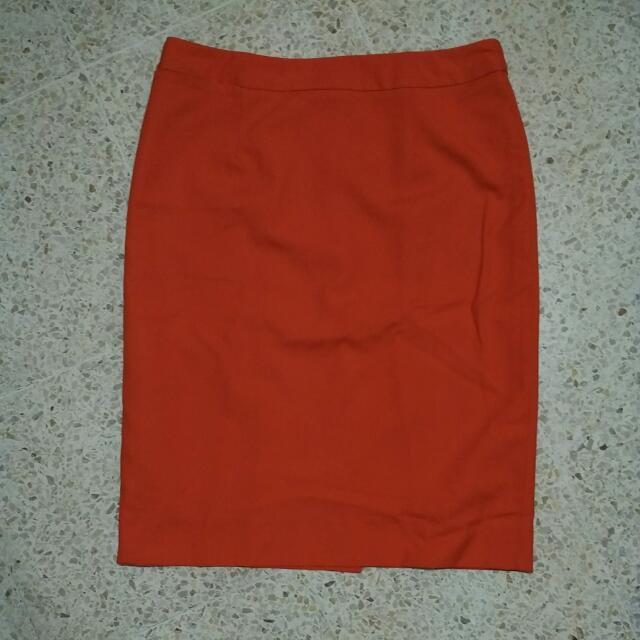 Accent Orange Skirt