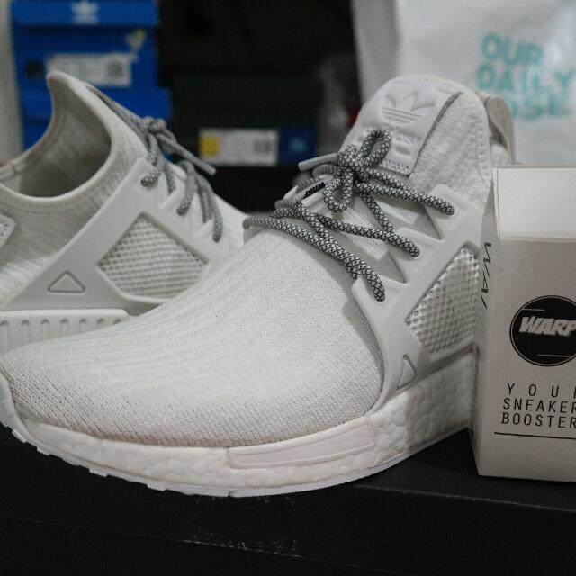 5bce48b124ae78 Adidas NMD XR1 Primeknit Glitch All White
