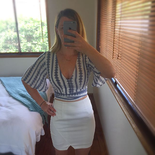 Ally Crop Top Size 6