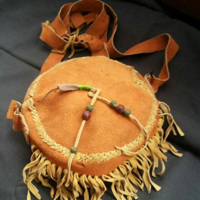 APACHE BUCKET BAG (HandMade Genuine Leather )
