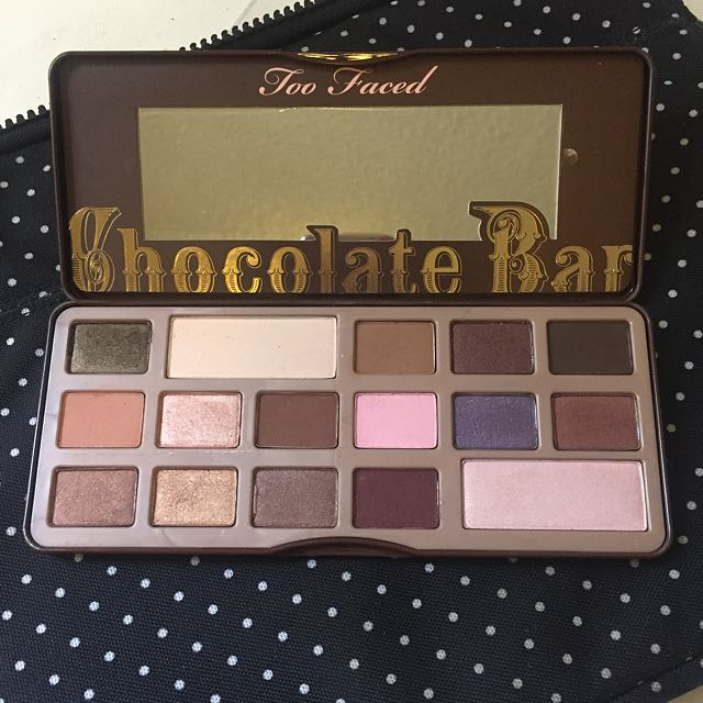 AUTHENTIC too faced Chocolate Bar Palette