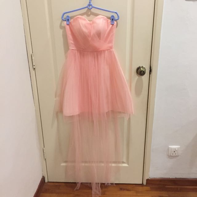 Baby Pink Bustier Dress