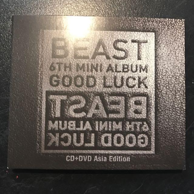 BEAST Good Luck Album