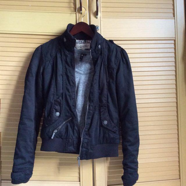 Bershka Black Jacket ORIGINAL