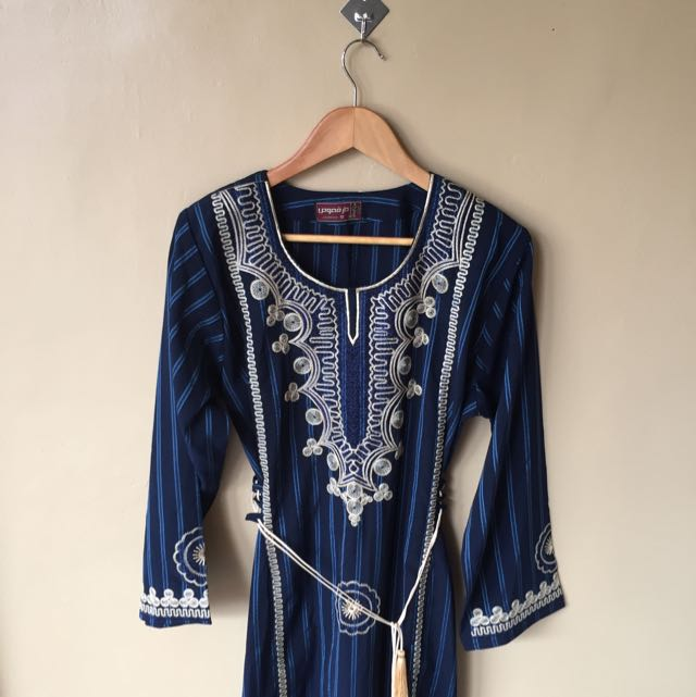 Blue Themed Dress