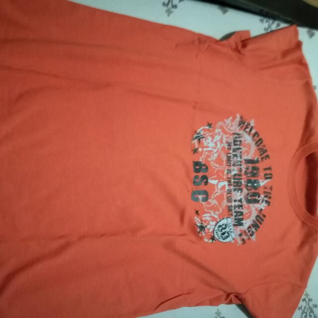 Bossini Orange Shirt
