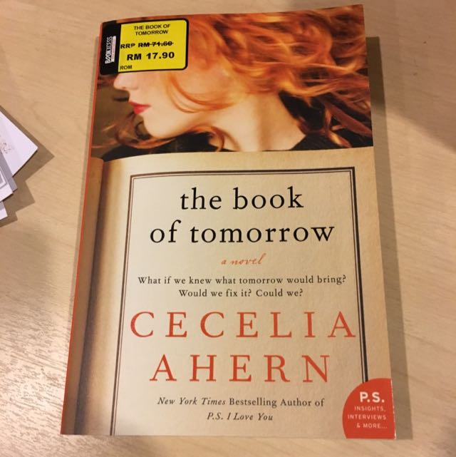 (Brand new) Cecile Ahern - The Book Of Tomorrow