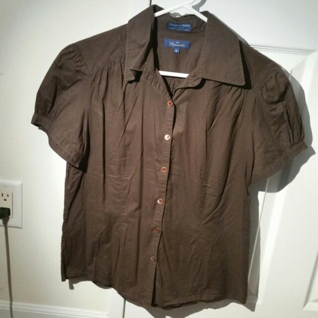 Brown Blouse (Medium)