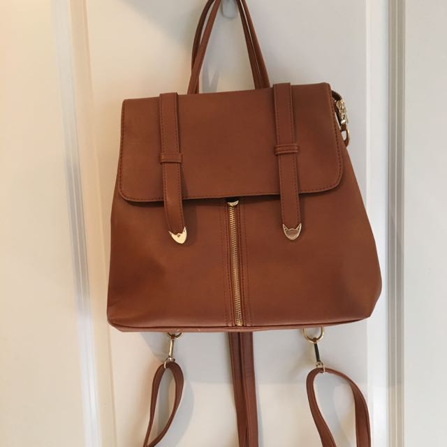 Brown Handbag.