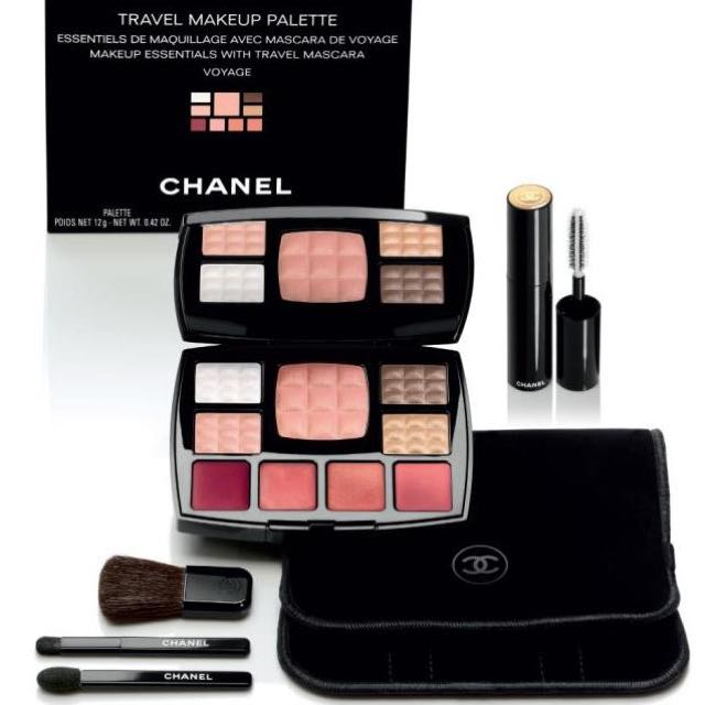 1fb6bb27db3 CHANEL TRAVEL MAKEUP PALETTE ESSENTIALS WITH TRAVEL MASCARA
