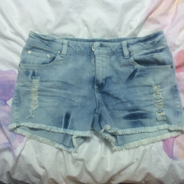 Chic A Booti Denim Shorts