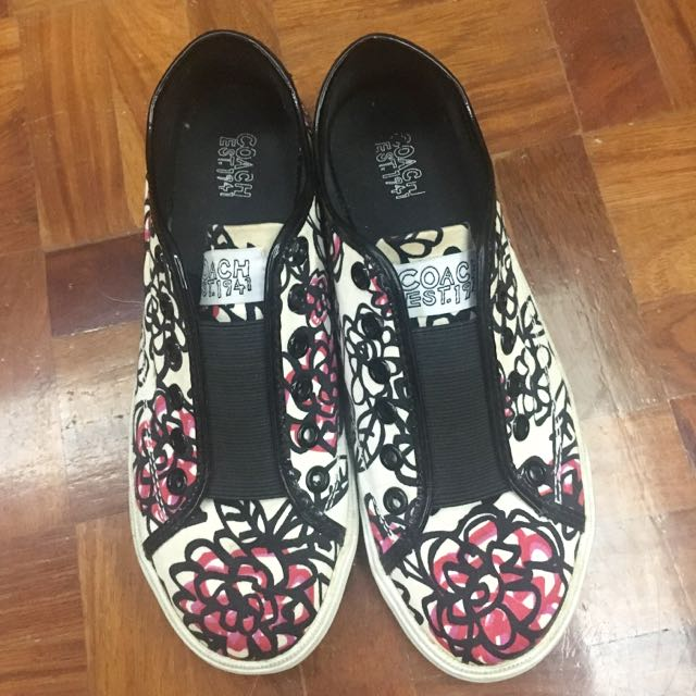 Coach Daisy Floral Sneakers