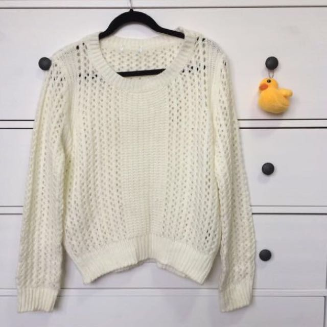 Cream Knit