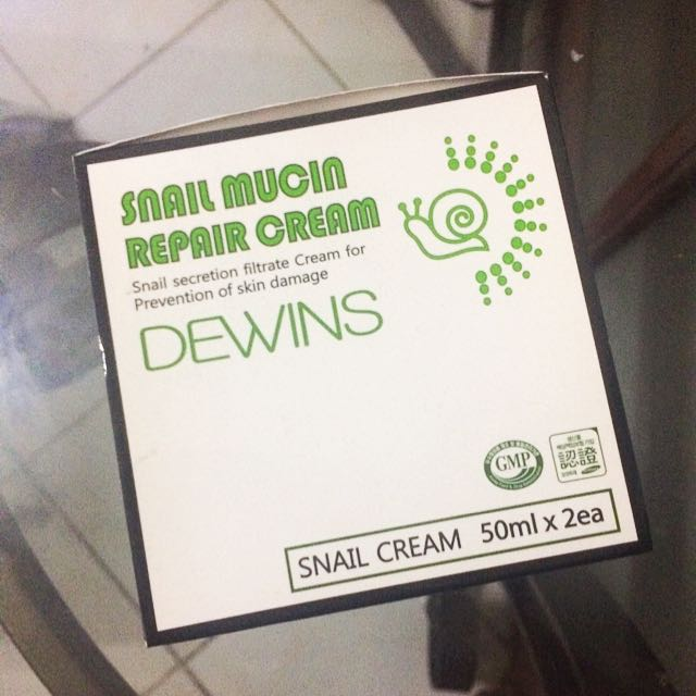 Dewins Korean Snail Mucin Repair Cream