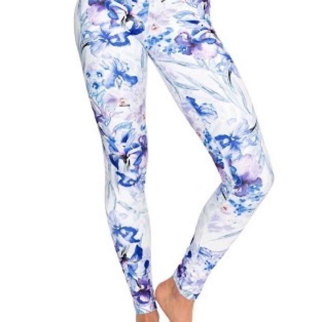 Dharma Bums Iris Love XS Full Length Leggings