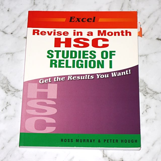 Excel Revise In A Month Studies Of Religion I