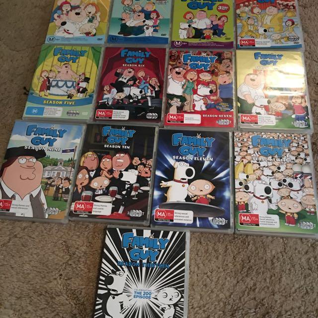 Family Guy. 1-13