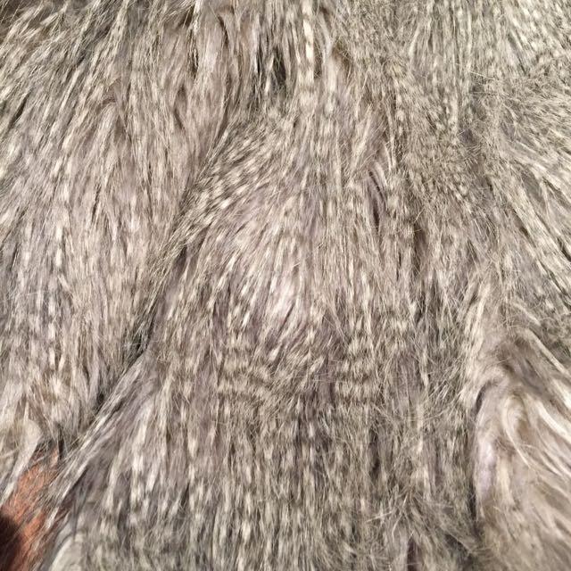 Faux Fur Jacket. Medium.