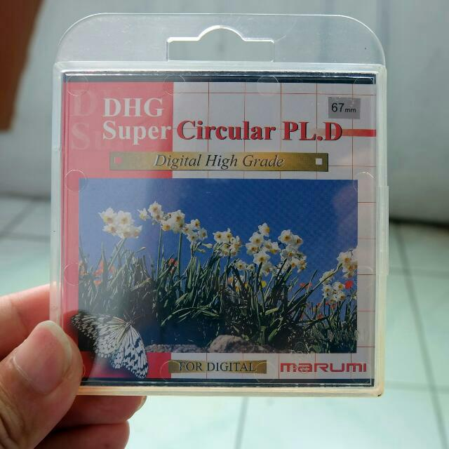 FILTER CPL MARUMI DHG SUPER CIRCULAR PL (D) 67MM
