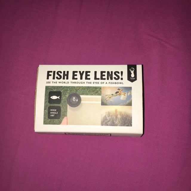 Magnetic Fish eye lense