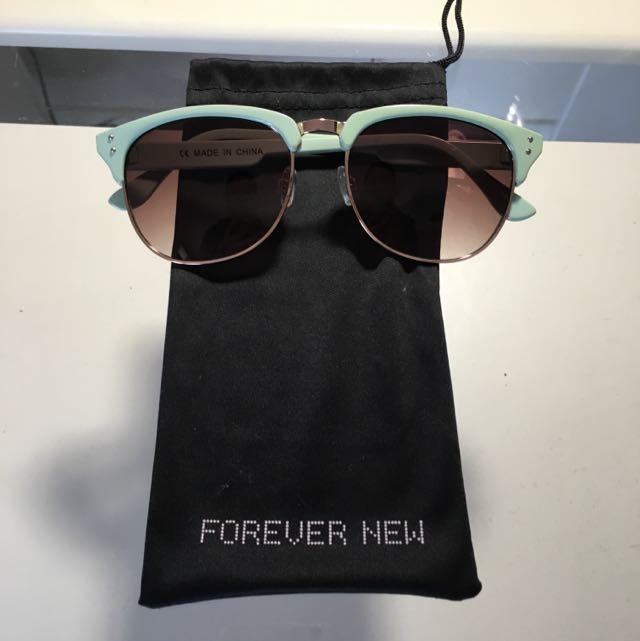 Forever New Blue Sunglasses