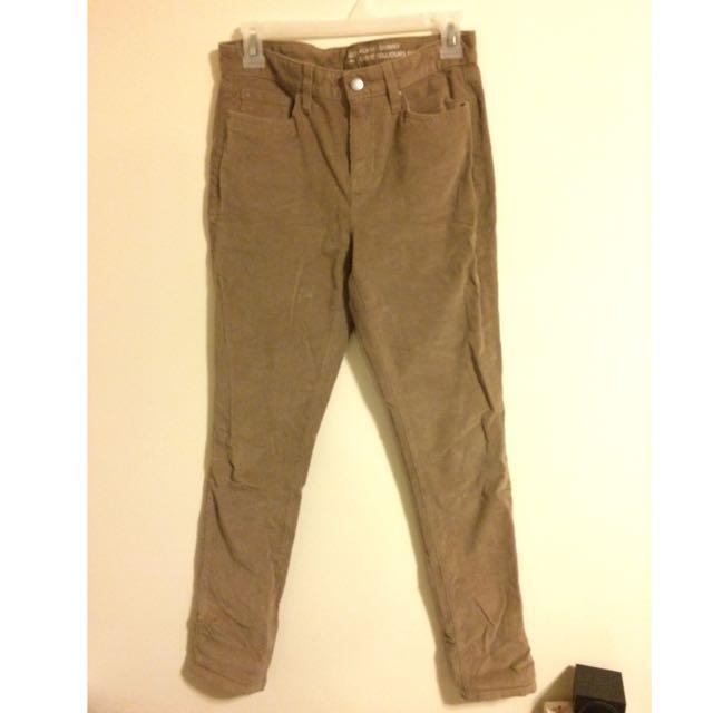GAP beige Corduroy Pants