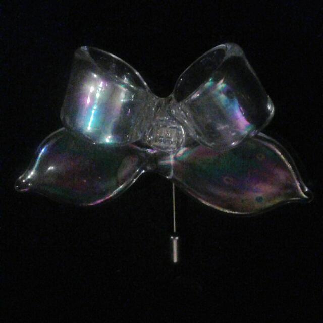 Glass Pin Pendant
