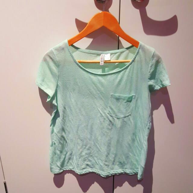 H &M Mint T-shirt