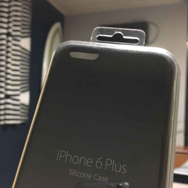 iPhone 6s Plus Silicon Case 原廠