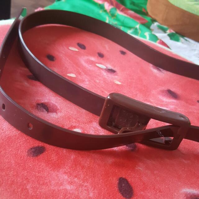 Jelly Brown Belt For FREE