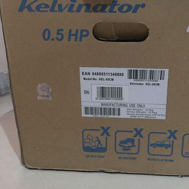 Kelvinator Air Condition 0.5hp