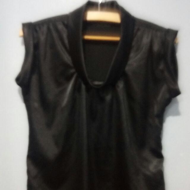Kimono Black Formal Top
