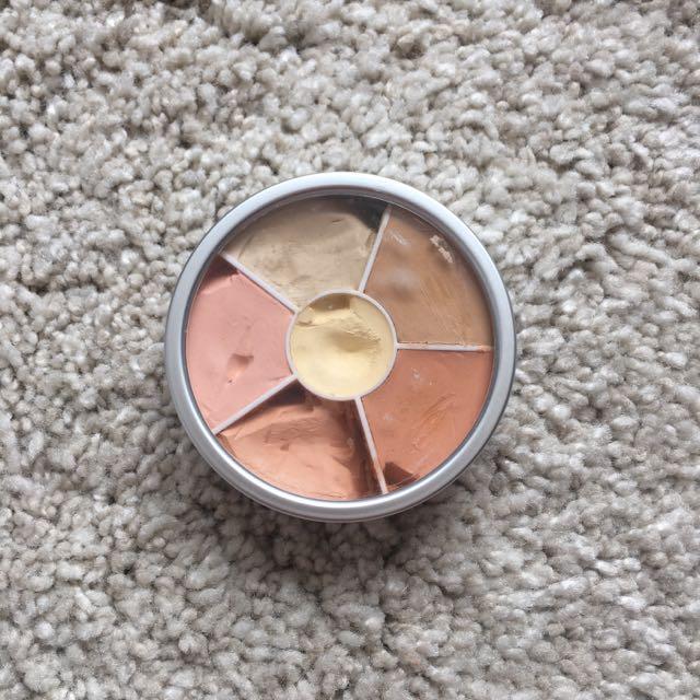 Kryolan 6 color Corrector + Concealer Simple