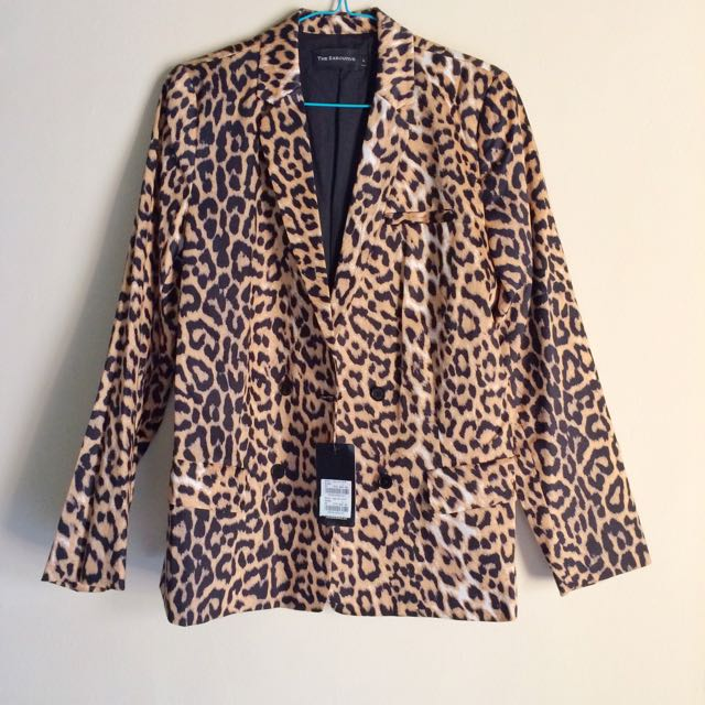Leopard Blazers By The Executive