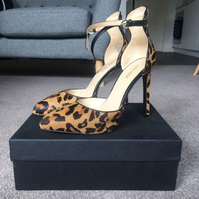 Leopard Print Platform Heels