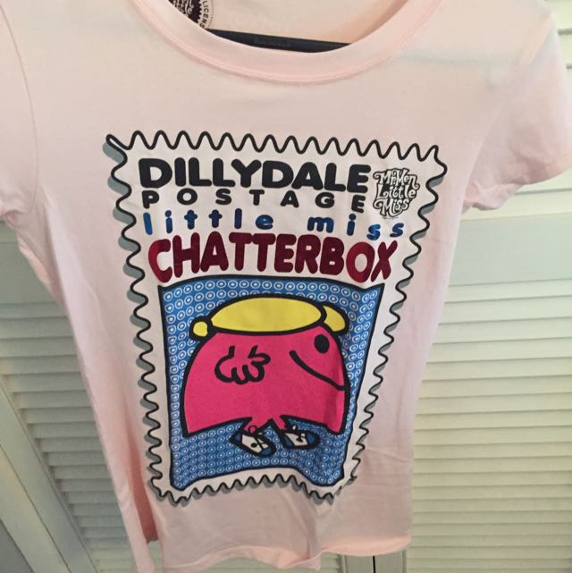 Little Miss Chatterbox Shirt Size S