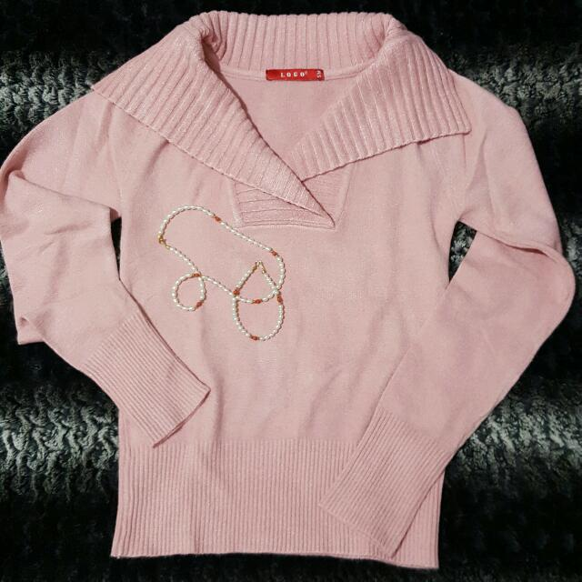 Logo Pink Top