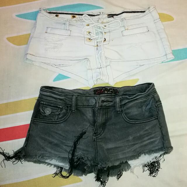 2 For 100 Low Waist Shorts