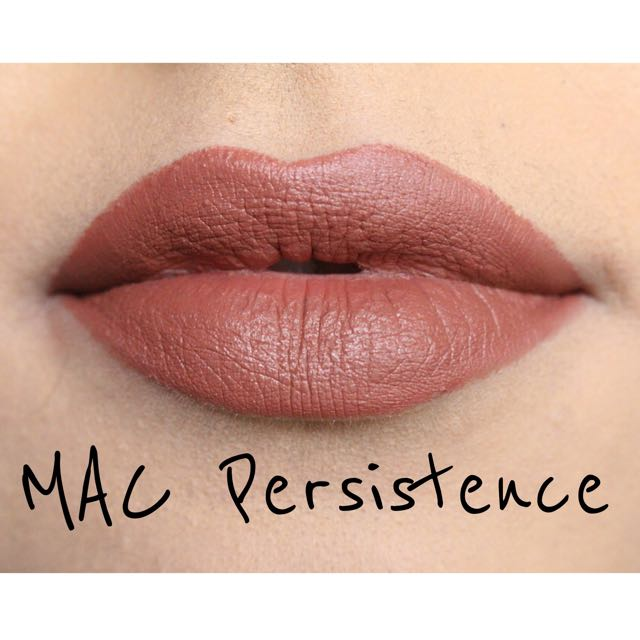 mac lipstick persistence, health & beauty, makeup on carousell
