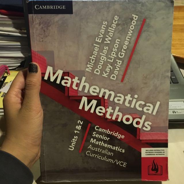 Mathematical Methods 1/2