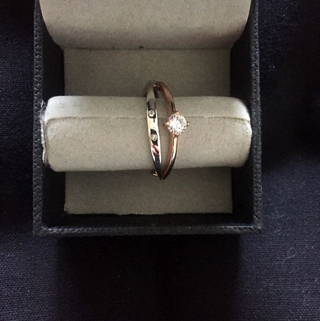 Mimco Two Toned Ring