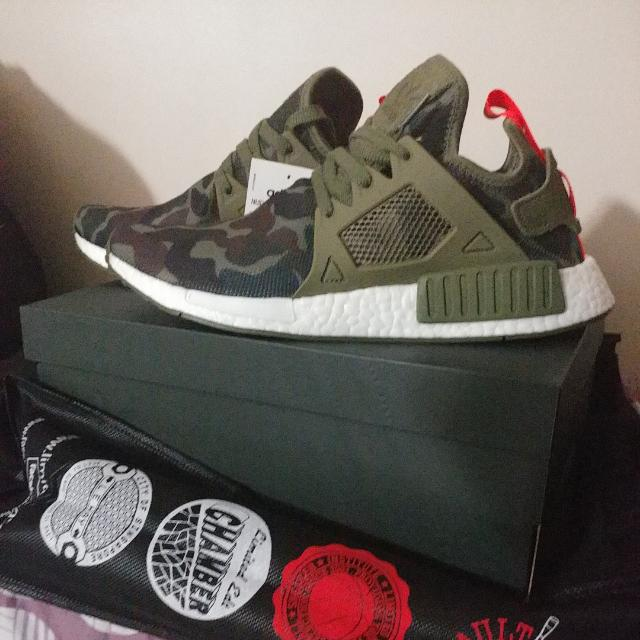 info for 13e48 6aa35 NMD RX1 duck Camo, Men's Fashion, Footwear on Carousell