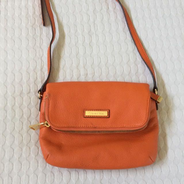 Orange Calvin Klein Bag
