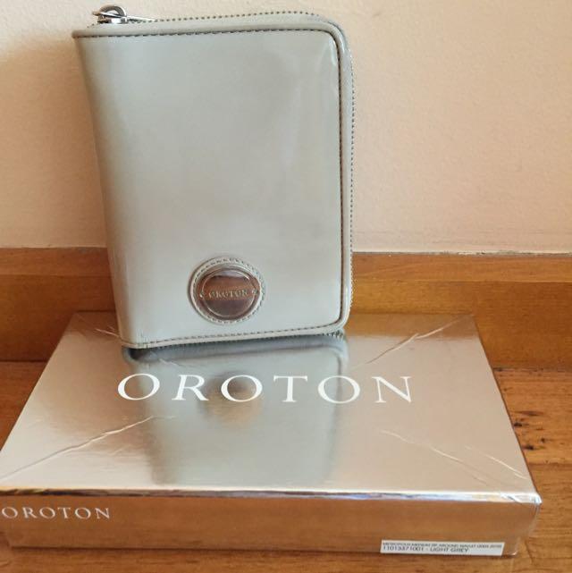 Oroton Metropolis Zip Around Wallet
