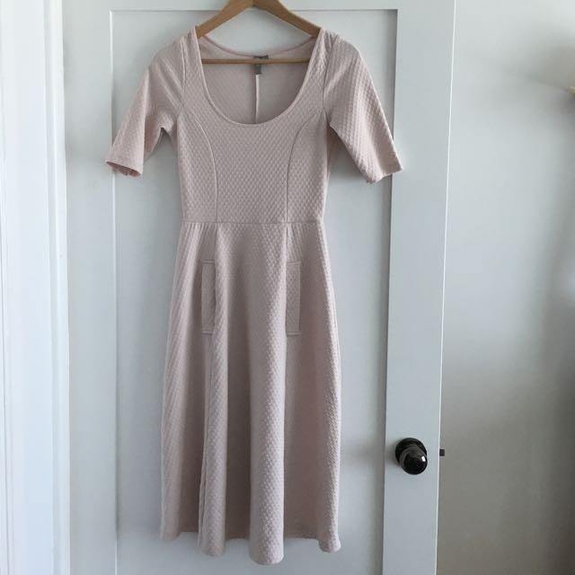 Pale Pink Dress Size 8
