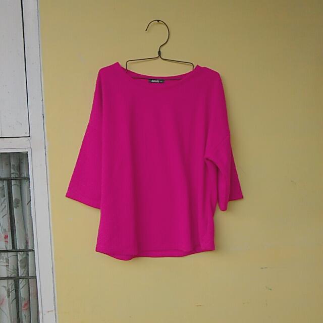 Pink Shirt Details