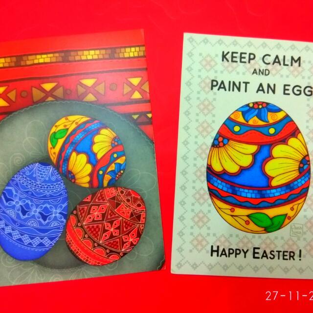Postcard Easter Greetings