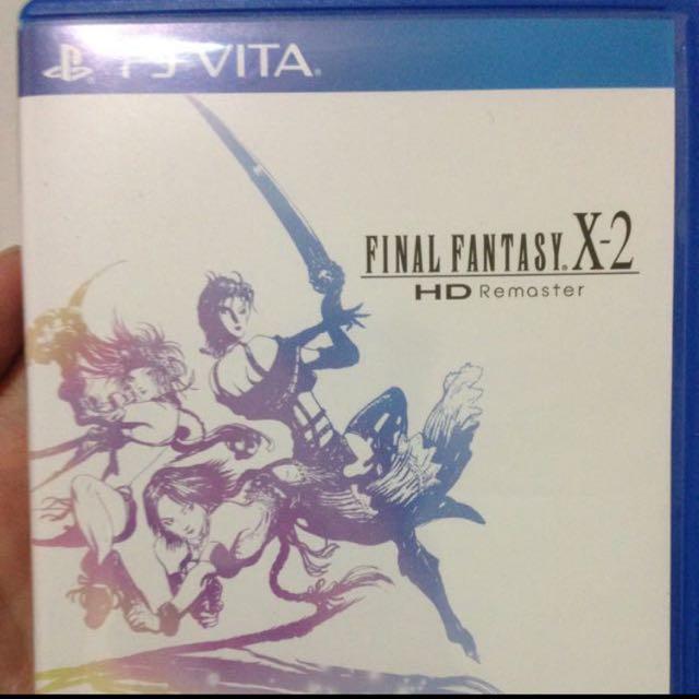 Psvita Final Fantasy X-2 Chinese Subtitle  Ps Vita