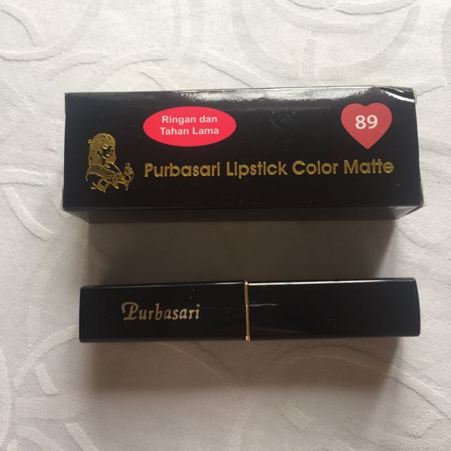Purbasari Lipstick Color Matte No.89