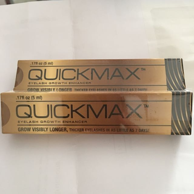 ddb05182b70 QUICKMAX Eyelash Growth Enhancer, Health & Beauty, Makeup on Carousell